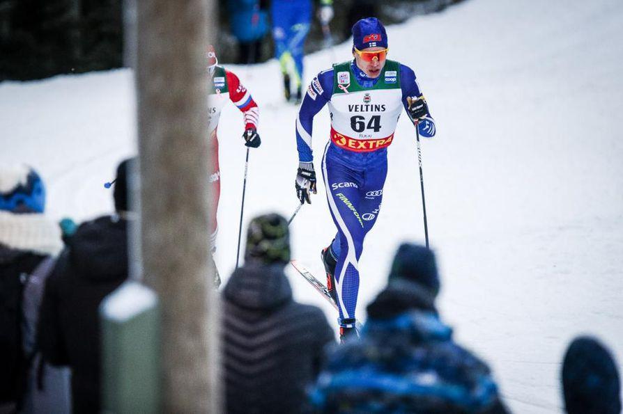 Iivo Niskanen on hallitseva vuoden urheilija.