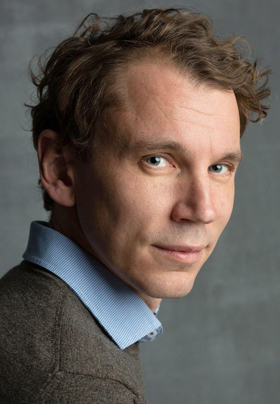 Kirjailija Juha Itkonen.
