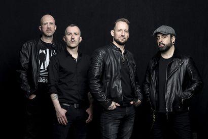 Metallirockin suurnimi Volbeat on Qstockin lauantain pääesiintyjä ensi heinäkuussa