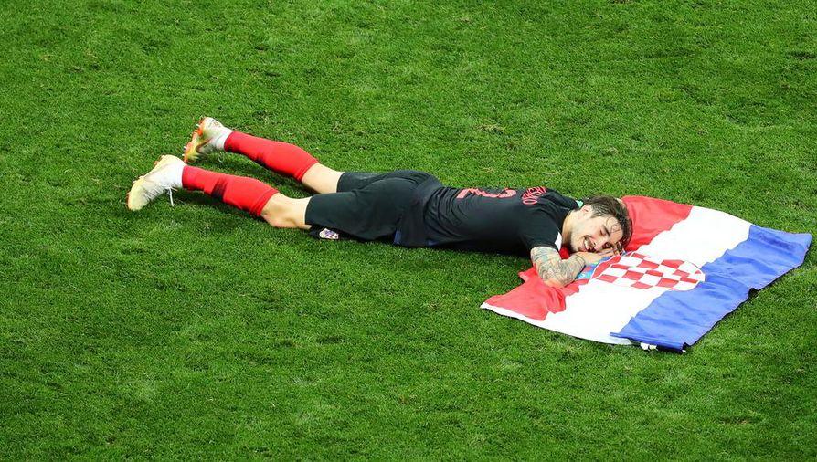 Kroatia elää ja hengittää nyt jalkapalloa.