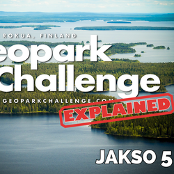 Katso viides jakso – Geopark Challenge explained -videosarjan viimeisessä jaksossa selviää riittääkö tieto, taito ja uhoaminen selättämään haastavan kilpailun
