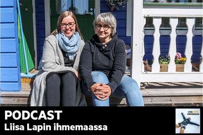 Kuuntele Liisa Lapin ihmemaassa: Tarja Taavo, 57, Rovaniemi: Työ sujuu paremmin, kun mieli ei ole kuohuksissa