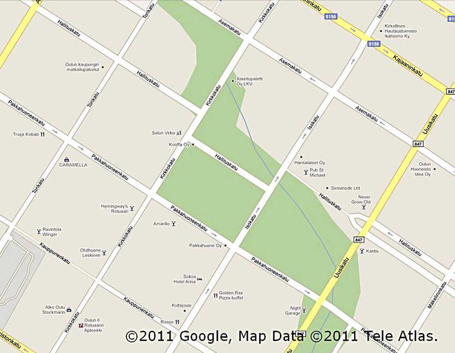 Google Maps Palvelun Kartoissa Puutteita Oulu Kaleva Fi