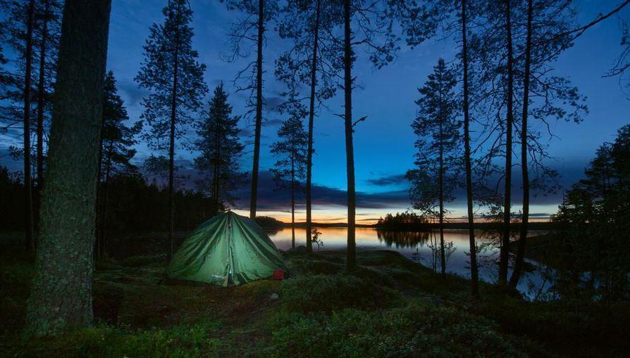 Suomen puhdasta luontoa ihaillaan myös ulkomailla. Kuva Helvetinjärven kansallispuistosta.