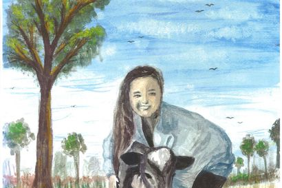 Riina Koskelan työ eteni Osuuspankin valtakunnallisen kuvataidekilpailun finaaliin