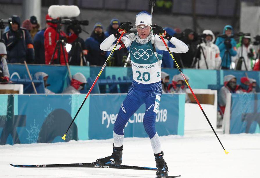 Tero Seppälä edusti Suomea myös Pyeongchangin olympialaisissa viime talvena.