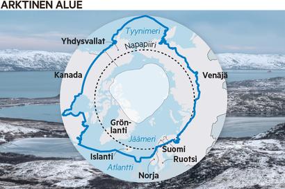 Mepit: Arktisella alueella tarvitaan rauhaa ja jännitteiden lieventämistä