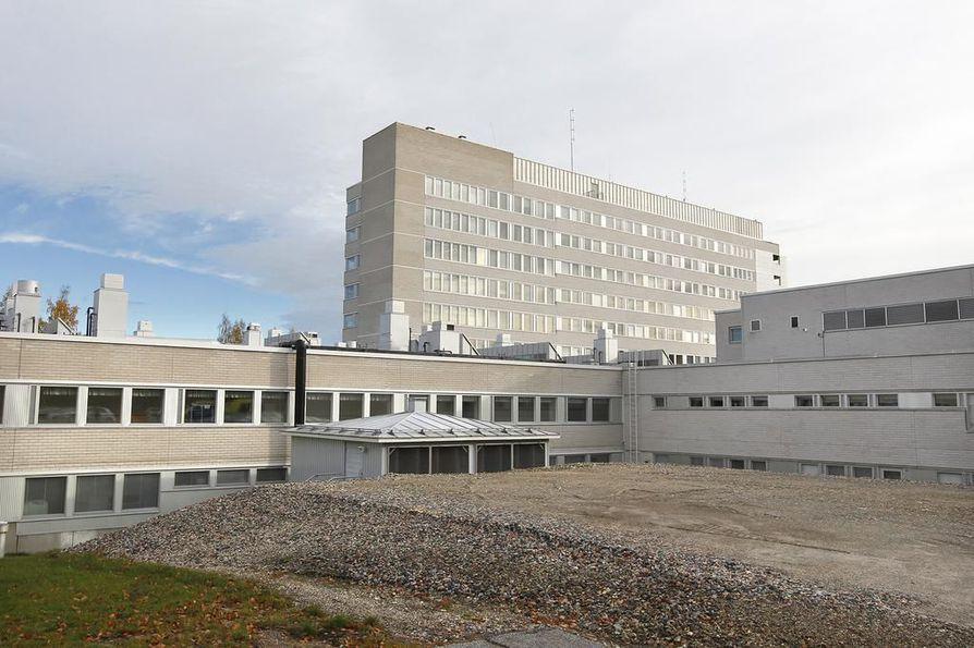 Kainuun keskussairaala.
