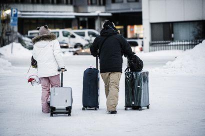Rovaniemellä yöpyneiden turistien määrä putosi puolella maaliskuussa – majoitusmyynti väheni 2,5 miljoonalla