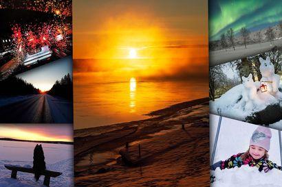 """""""Tällä korkeudella ei ole kaamosta, se on aivan jossain muualla"""" – katso lukijoiden sääkuvien joulukuun taianomainen voittajakuva sekä talvisen luonnon kauneutta pursuavat toimituksen suosikit"""
