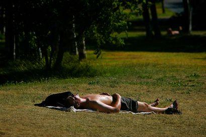 UV-säteilykertymä oli viime kesän tasolla Pohjois-Suomessa