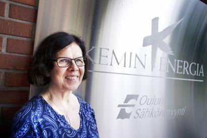 Kemin Energia- ja Vesi Oy:n toimitusjohtaja Anne Salo-oja jää eläkkeelle, uusi toimitusjohtaja on haussa parhaillaan