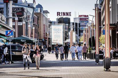 Rovaniemen keskustan elinvoima pysynyt hyvällä tasolla myös pandemian aikana, vaikka tyhjien liiketilojen määrä on kasvanut edellisvuodesta