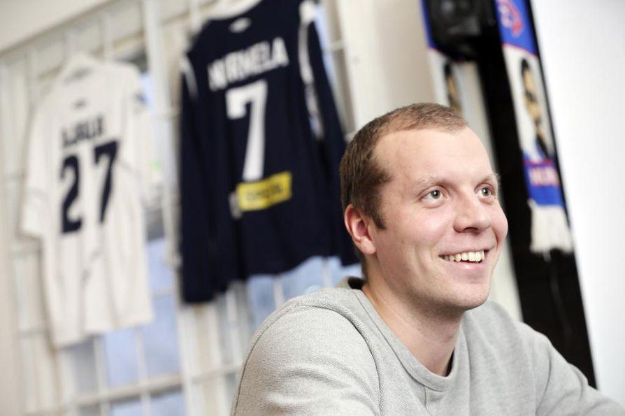 AC Oulun seurajohtaja Juho Meriläinen kertoo, että kiusaamisen vastaista kampanjaa on valmisteltu muutaman kuukauden ajan. Arkistokuva.