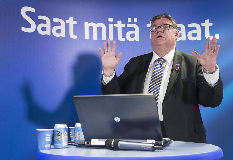 Timo Soinin monet sutkautukset ovat peräisin hänen blogistaan. Arkistokuva.