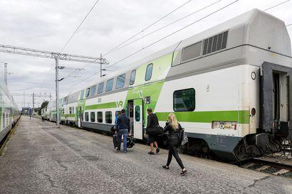 Yöjuna Kemijärvelle myöhässä yksitoista tuntia, ratavaurion aiheuttama katkos vaikuttaa koko päivän junaliikenteeseen