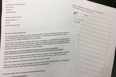 Susikirje vetämässä paikallisten keskuudessa Siikalatvalla – nimilistat ja postia lähdössä oikeuskanslerille maanantaina