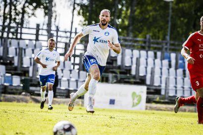 Kemi City FC menetti otteensa Jyväskylässä