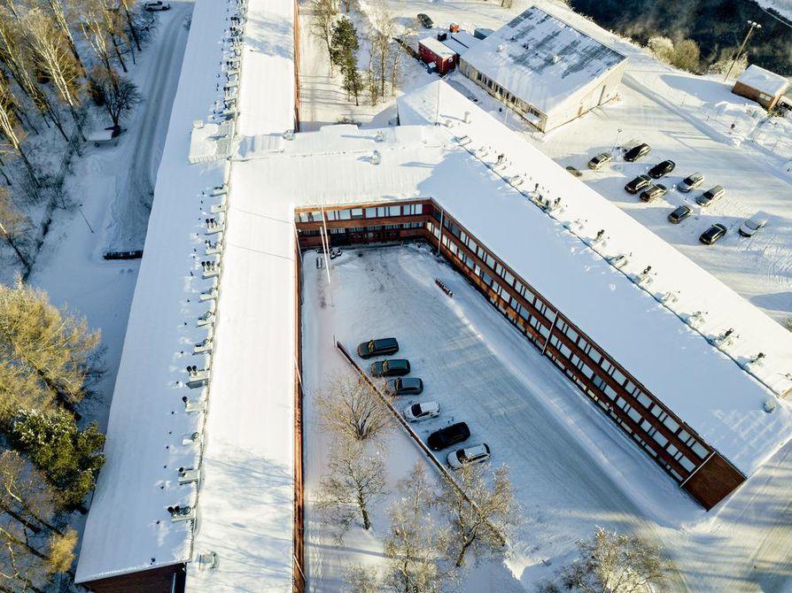 Alvar Aallon toimisto suunnittelema Typpi Oy:n tehdasalueen ulkopuolella sijaitseva tutkimuskeskus valmistui 1967. Se on inventoitu, mutta tehtaan porttien sisäpuolelle ei inventoijilla vielä ole ollut asiaa.