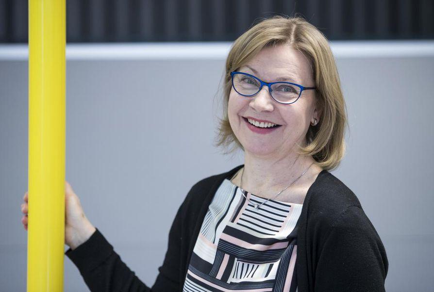 Oulun yliopiston informaatiotutkimuksen professori Maija-Leena Huotari
