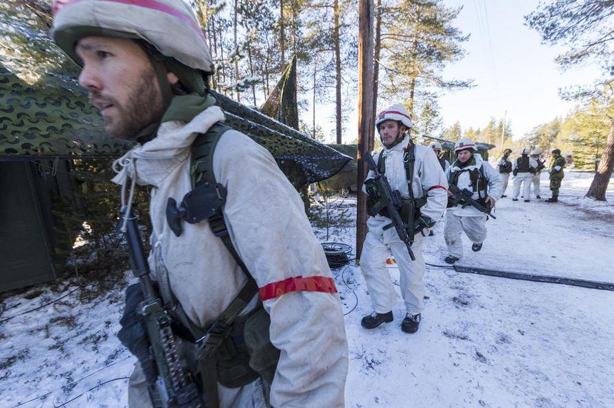 Reilut 2000 ruotsalaista sotilasta osallistui Naton Trident Juncture -sotaharjoitukseen lokakuussa 2018 Norjassa. Myös Suomi oli mukana.