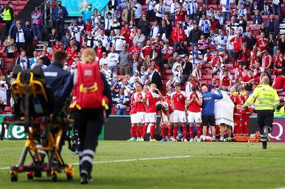 Lääkäri vahvisti, että Christian Eriksenin sydän pysähtyi Suomi-pelissä hetkeksi – Tanskan päävalmentajan mukaan EM-ottelua ei olisi pitänyt jatkaa