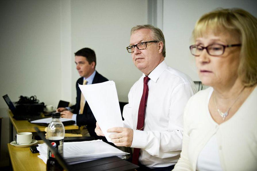 Akavan puheenjohtaja Sture Fjäderin mukaan nyt ollaan samassa tilanteessa kuin 20. elokuuta. Arkistokuva.