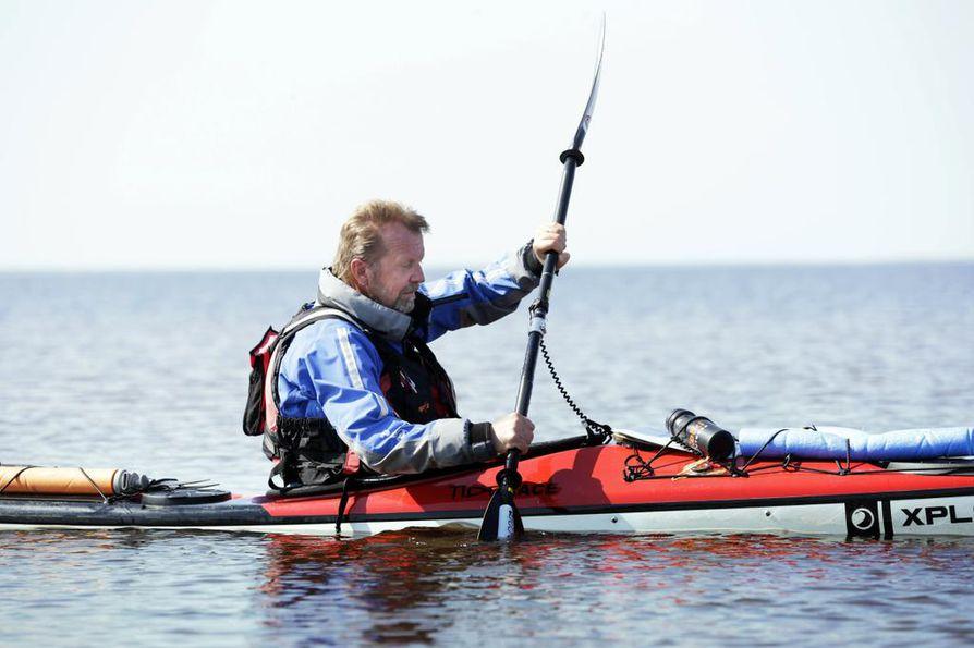 Pekka Lassila joutui taistelemaan viimeiset kilometrit Tornioon.