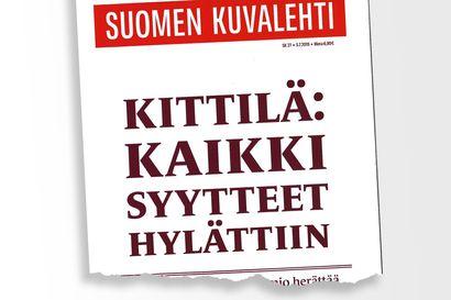 """Näin Suomen Kuvalehden päätoimittaja Matti Kalliokoski kommentoi lehtensä Kittilä-uutisointia: """"Katsotaan prosessi loppuun asti"""""""