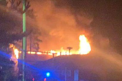 Puurakennus vaurioitui pahoin tulipalossa Pyhäjoen Yppärissä – tuli eteni rajusti sisätiloissa
