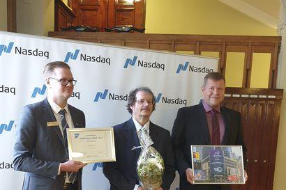 Kempeleläisyritys BioSO4:lle myönnettiin Suomen Nuorkauppakamari ry:n Tuottava idea -palkinto