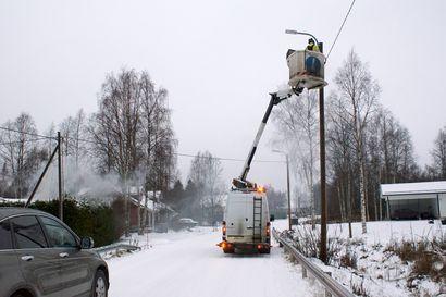 Rimmin ja Mursunsaaren tievalaistus kuntoon – 102 pylväissä olevaa valaisinta uusiksi