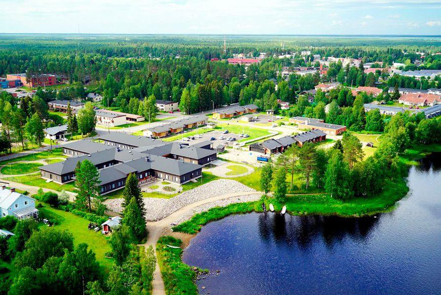 Pudasjärven hirsikampus on ollut Airmoilasen kuvauskohteena koko  rakennusvaiheensa ajan.