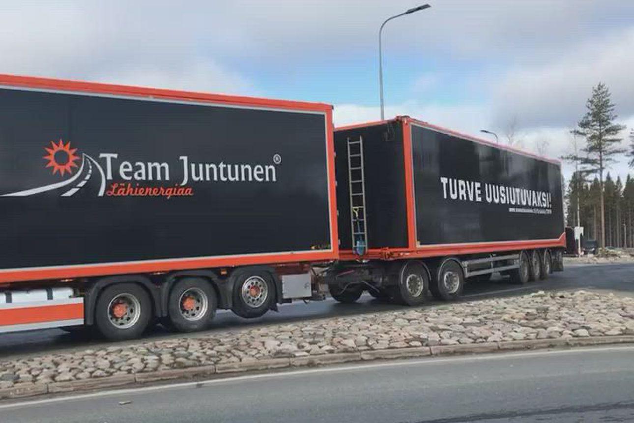 Turverekat lähtevät kohti Helsinkiä