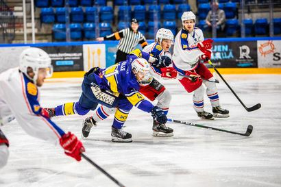 Rovaniemen Kiekko harjoitteli voiton Kajaanin Hokista