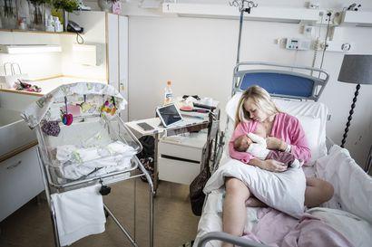 Lappiin syntyy uusia lapsia enemmän kuin viime vuonna, mutta synnytykset pyörivät poikkeusluvan turvin
