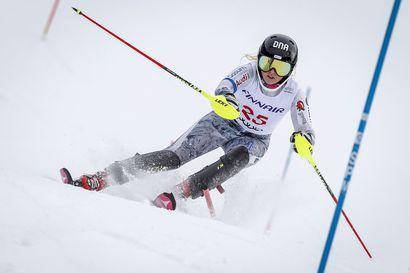 Ruka Slalomin laskijat kärjessä Pyhän FIS-suurpujottelussa