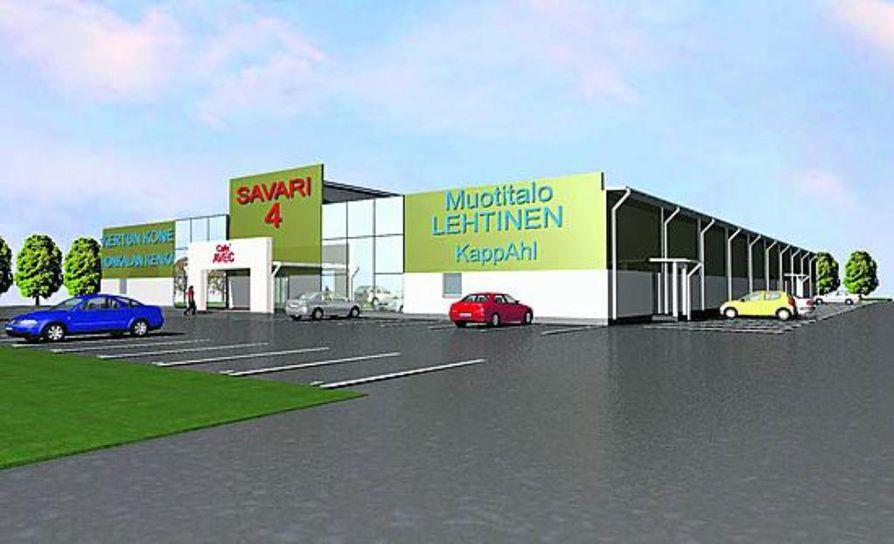 Uusi ylivieskalainen kauppakeskus lähti liikkeelle Muotitalo Lehtisen aloitteesta.