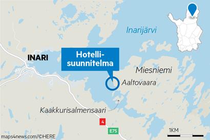 Miljonääri Lesosen 15 miljoonan euron luksuskorpihotelli olisi tervetullut Inariin