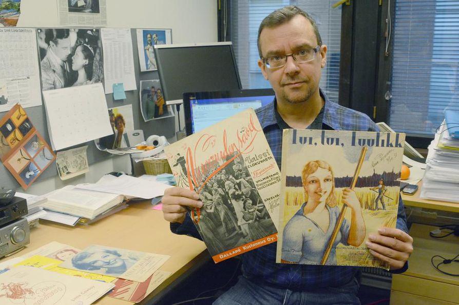 Elokuvatutkija Juha Seitajärvi.