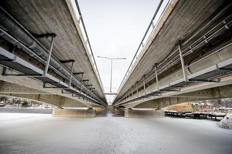 Pohjantien sillat uusitaan kokonaan.