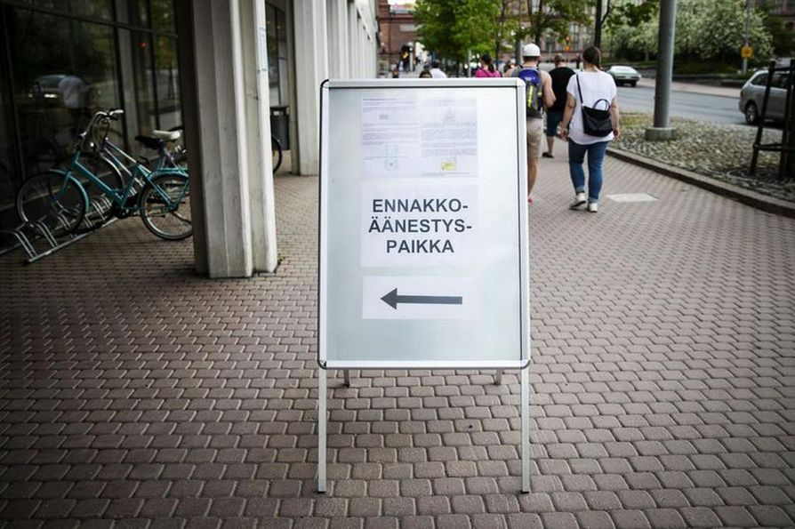 Äänestysaktiivisuus oli Suomessa viime eurovaaleissa 41 prosenttia.