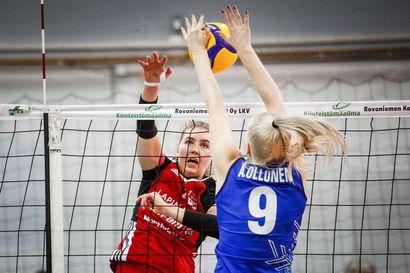 Pienet asiat ratkaisivat voiton LP Viestille – WoVo Rovaniemi taisteli Salohallissa kolme erää