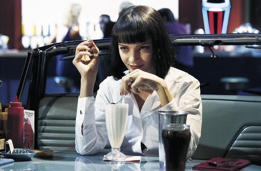Uma Thurman nähdään Pulp Fictionissa.