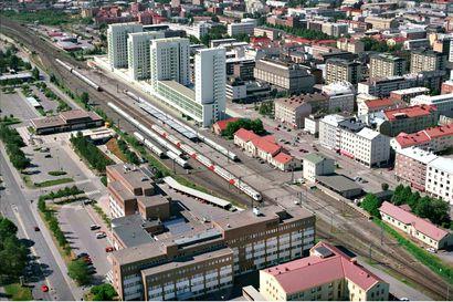 Oulun matkakeskus uusiksi - nyt suunnitelmissa tornitaloja