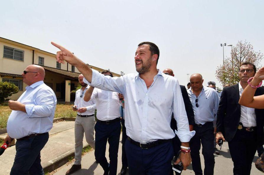 Italian sisäministerin Matteo Salvinin Lega-puolue neuvotteli Venäjän kanssa rahoituksesta, jonka tarkoituksena oli tukea kansallismielistä puoluetta.