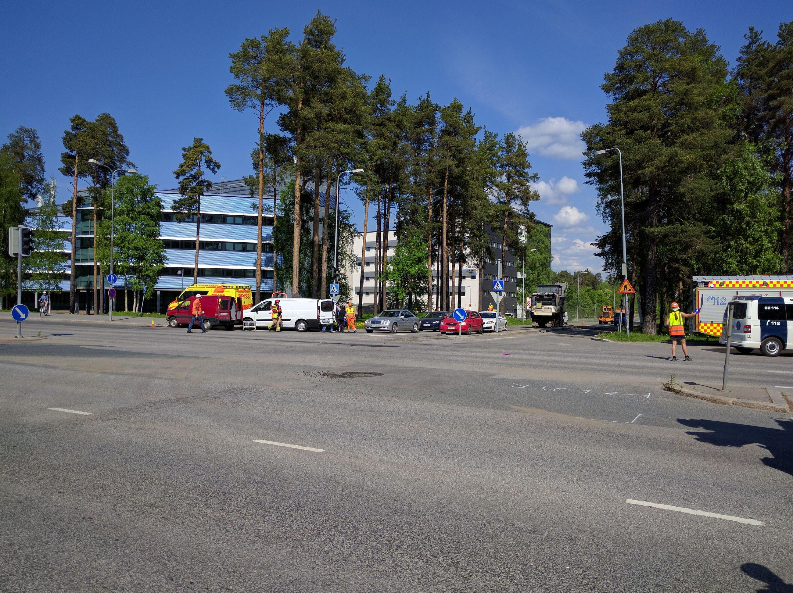 Tietyöt Oulu