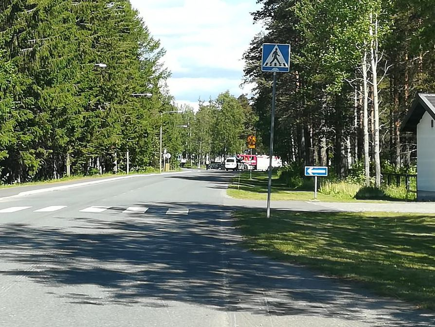 Kemin Paattiossa sattui puoli kahdentoista aikaan polkupyöräilijän ja ajoneuvon yhteentörmäys.