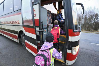 Triviabus ja Oulaisten Liikenne järjestävät koulukyyditykset elokuusta alkaen Haapavedellä