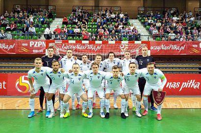Suomi Georgian kaadolla jatkoon futsalin MM-karsinnassa